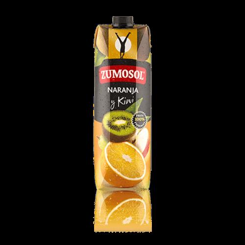 Zumosol Zumosol 100% Fruchtsaft Orange Kiwi 1l