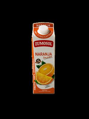 Zumosol Zumosol 100% Zumo Naranja SIN Pulpa 1l