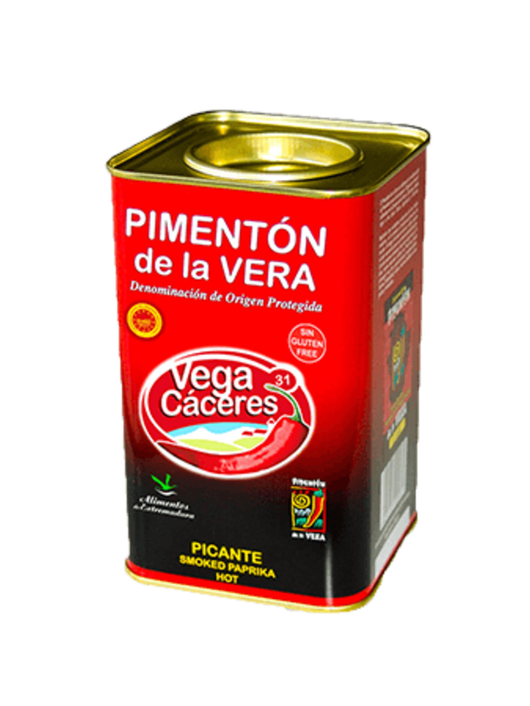 Vegacáceres Scharfes Paprikapulver Pimentón de la Vera 750g