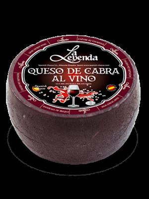 La Leyenda Ziegenkäse mit Wein 1kg