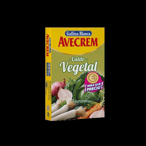 Avecrem Avecrem Caldo Vegetal 8 pastillas