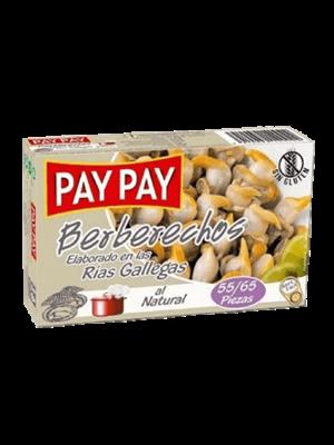 Pay-Pay Pay-Pay Berberechos 55/65 piezas 63g