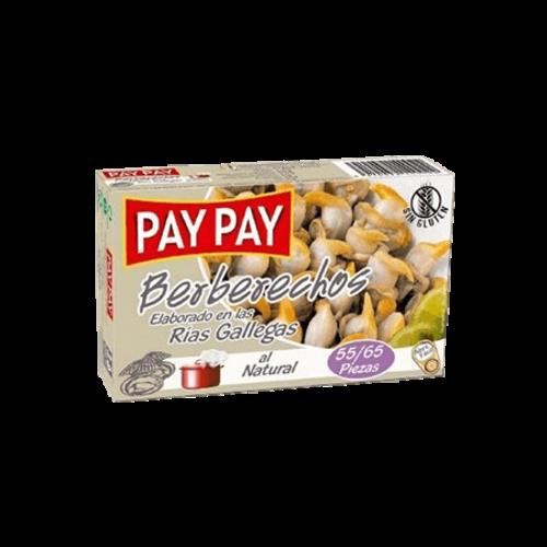 Pay-Pay Pay-Pay Berberechos (Herzmuscheln) 55/65 Stück 63g