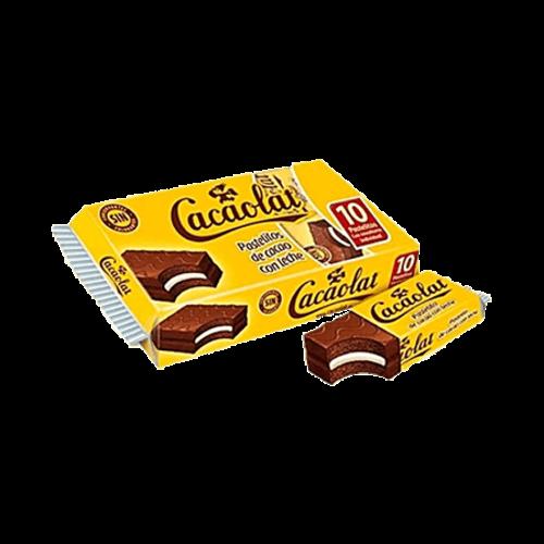 Cacaolat Pastelito Cacaolat 10 unidades