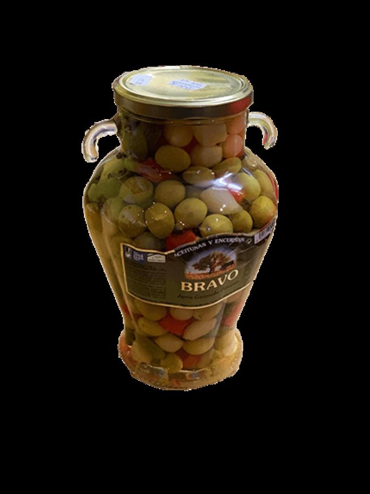 "Bravo Bravo Olivencocktail ""Gazpacha"" - Jarra 1.2kg"