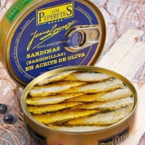 Peperetes Los Peperetes Sardinillas en Aceite de Oliva PICANTES 120g
