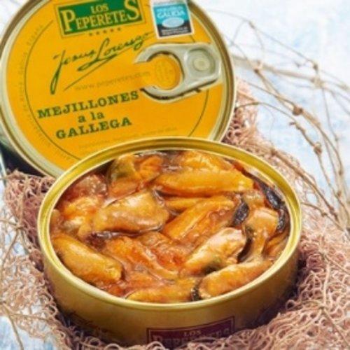 Peperetes Los Peperetes Mejillones a la Gallega 120g