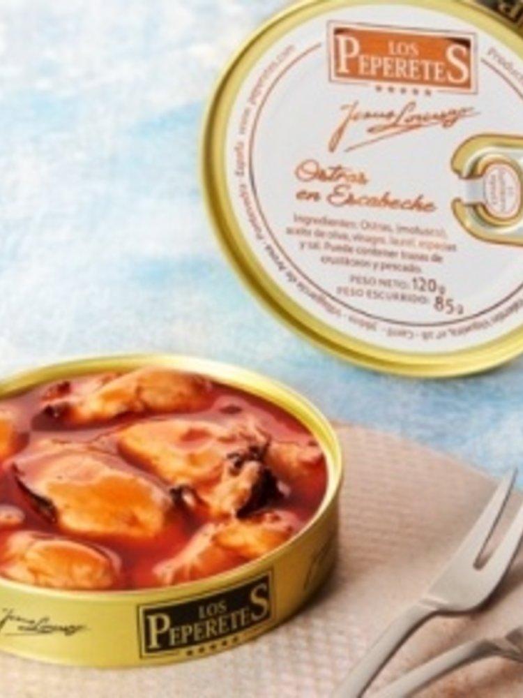 Peperetes Los Peperetes Austern in Marinade 120g