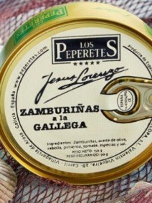 Peperetes Los Peperetes Jakobsmuscheln nach Galizischer Art 150g