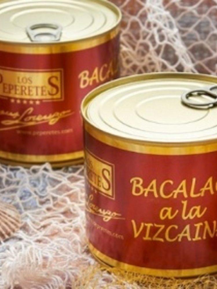 Peperetes Los Peperetes Bacalao a la Vizcaína 600g