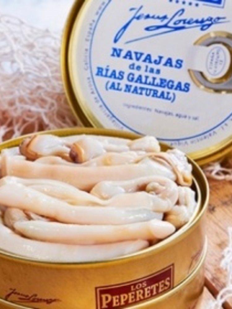Peperetes Los Peperetes Navajas (gerade Scheidenmuschel) 120g