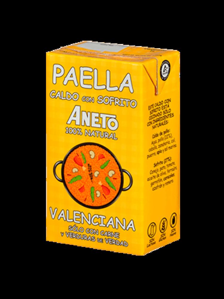 Aneto Aneto Caldo Paella Valenciana 100% natural 1l