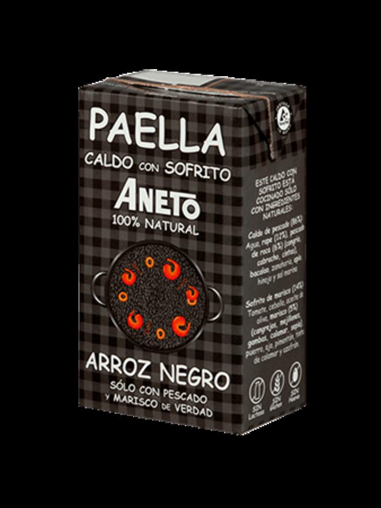 Aneto Aneto Caldo Arroz Negro 100% natural 1l