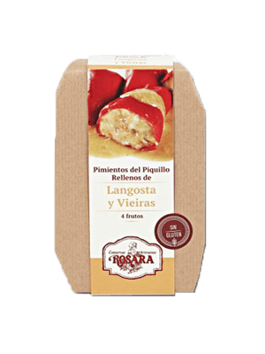 Rosara Rosara Pimientos del Piquillo mit Languste und Jakobsmuschel gefüllt 250g