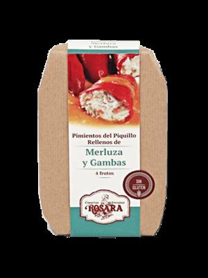 Rosara Rosara Pimientos del Piquillo mit Seehecht und Garnelen gefüllt 250g