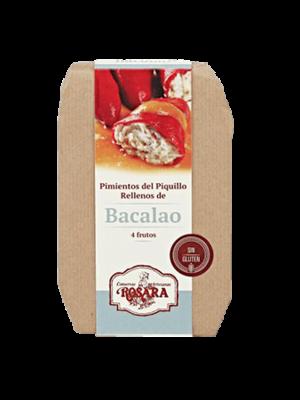 Rosara Rosara Pimientos del Piquillo mit Kabeljau gefüllt 250g