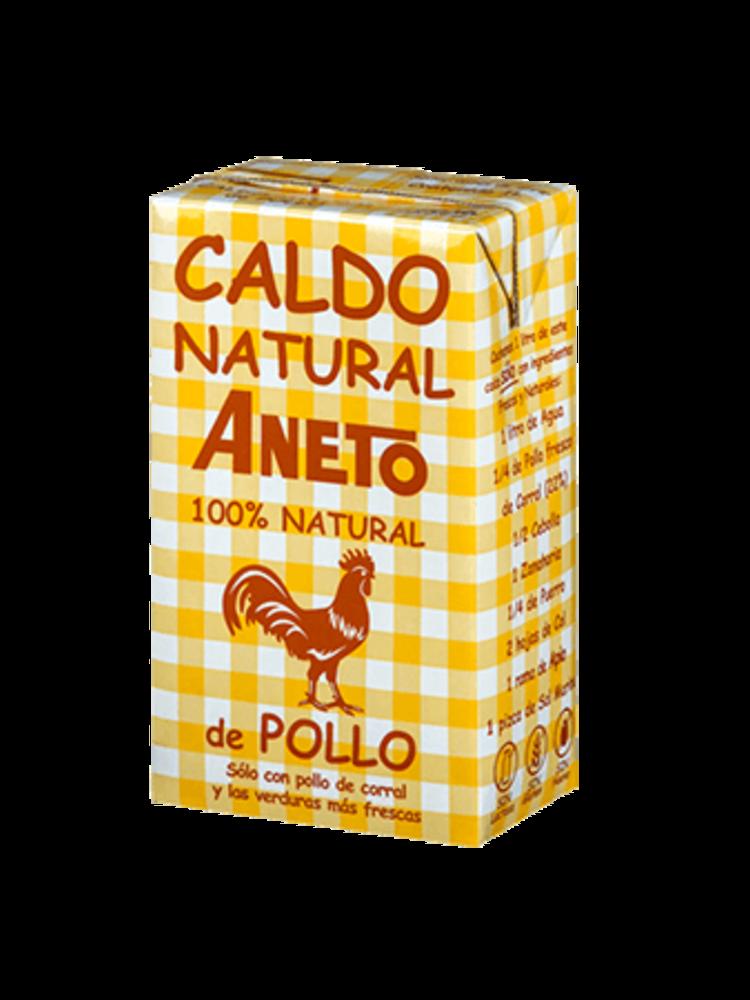 Aneto Aneto Caldo Natural de Pollo 1l