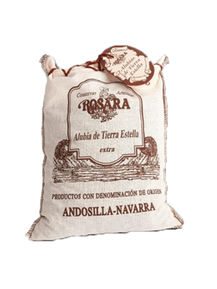 """Rosara Rosara Bohnen """"Alubias de Tierra Estella"""" 1kg"""