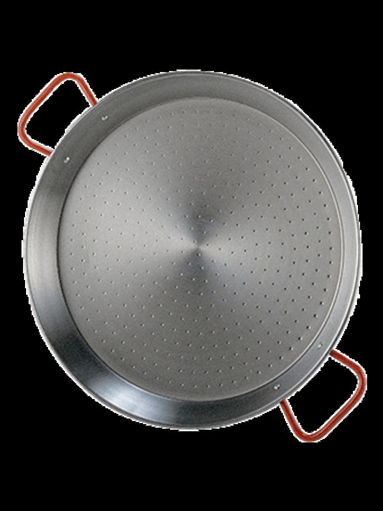 Garcima Paella Valenciana aus poliertem Stahl 60cm 19 Portionen