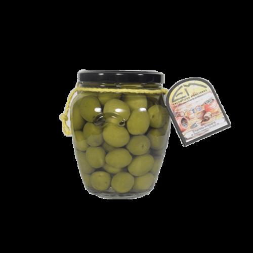 Encurtidos Murcianos Manzanilla Oliven mit Sardellengeschmack 330g