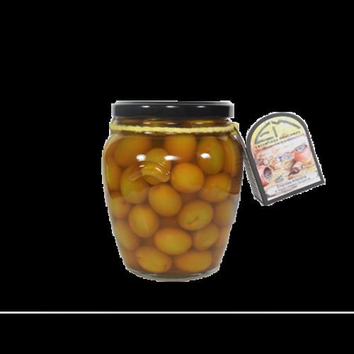 Encurtidos Murcianos Grüne Oliven mit Paprikapulver 330g