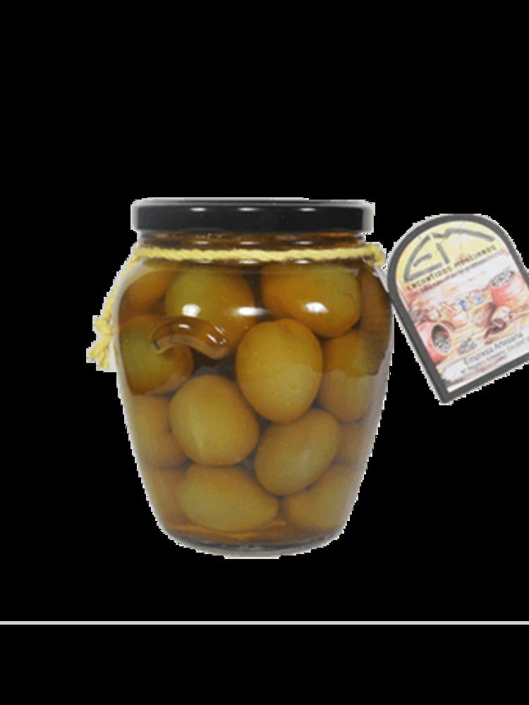 Encurtidos Murcianos Gordal Oliven mit Paprikapulver eingelegt 330g