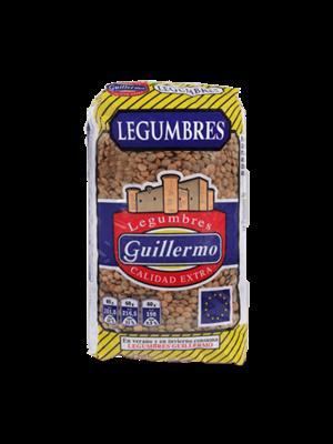 Legumbres Guillermo Lenteja Castellana 1kg
