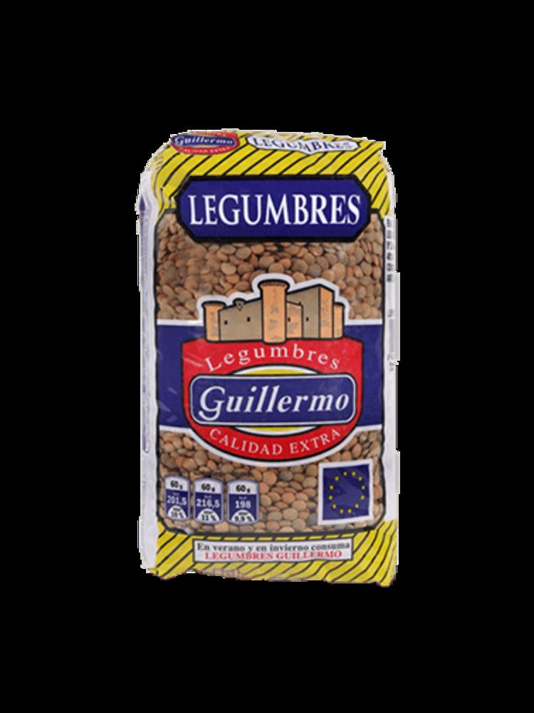 "Legumbres Guillermo Linsen ""Lenteja Castellana"" 1kg"
