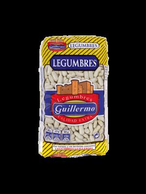 """Legumbres Guillermo Weisse Bohnen """"Alubia Fabada"""" 1kg"""