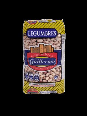 """Legumbres Guillermo Gefleckte Bohnen """"Alubia Pinta"""" 1kg"""