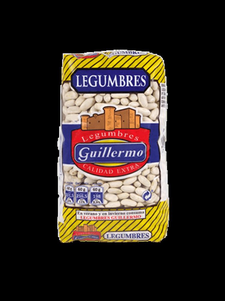 """Legumbres Guillermo Weisse Bohnen """"Alubia Blanca Riñon"""" 1kg"""