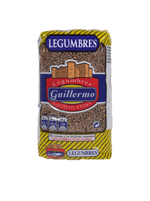 Legumbres Guillermo Lenteja Pardina 1kg