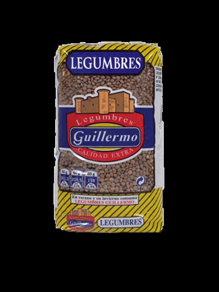 "Legumbres Guillermo Linsen ""Lenteja Pardina"" 1kg"