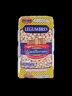 """Legumbres Guillermo Kichererbsen """"Garbanzo Gordo"""" 1kg"""