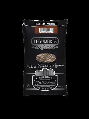 Legumbres Guillermo Lenteja Pardina Gourmet 500g