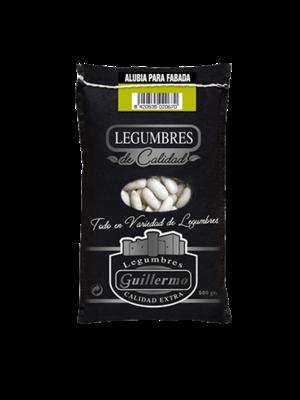 """Legumbres Guillermo Weisse Bohnen """"Alubia Fabada"""" Gourmet 500g"""