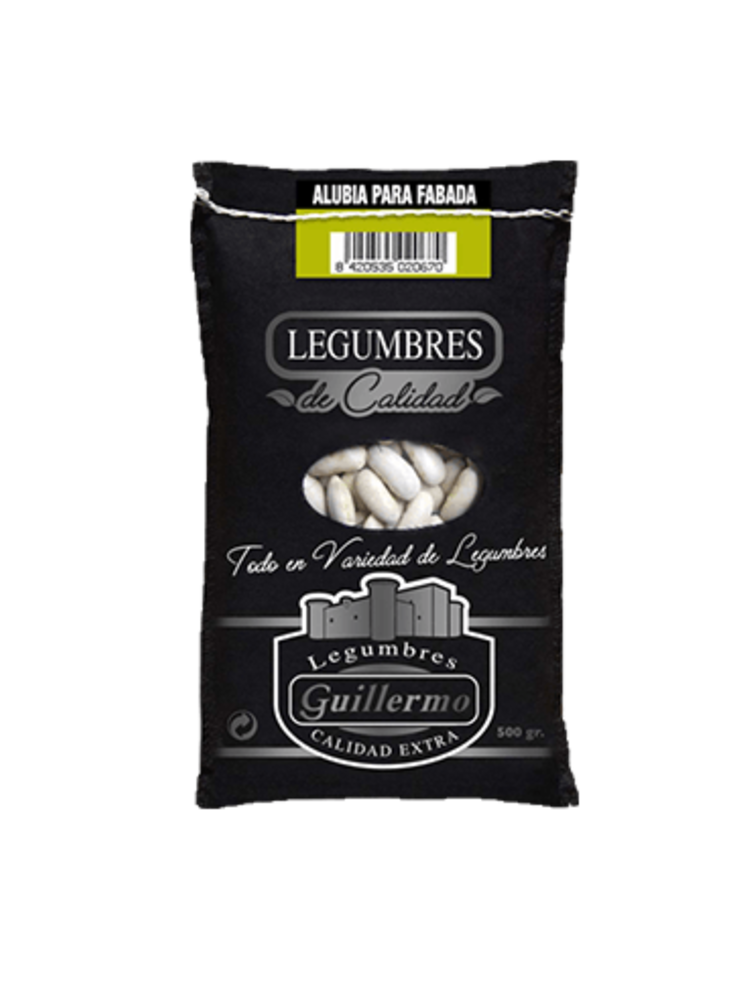 Legumbres Guillermo Alubia Fabada Gourmet 500g