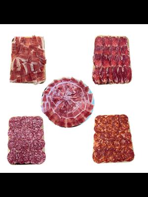 Ibérico Pack Degustación con jamón y embutidos