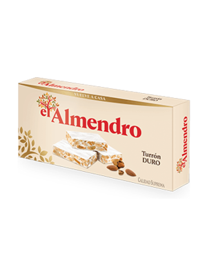 El Almendro El Almendro Turrón almendra duro 250g