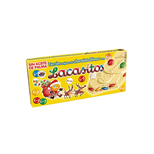 Lacasitos Turrón Lacasitos Chocolate Blanco 200g