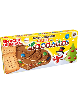 Lacasitos Turrón Lacasitos Galleta 215g