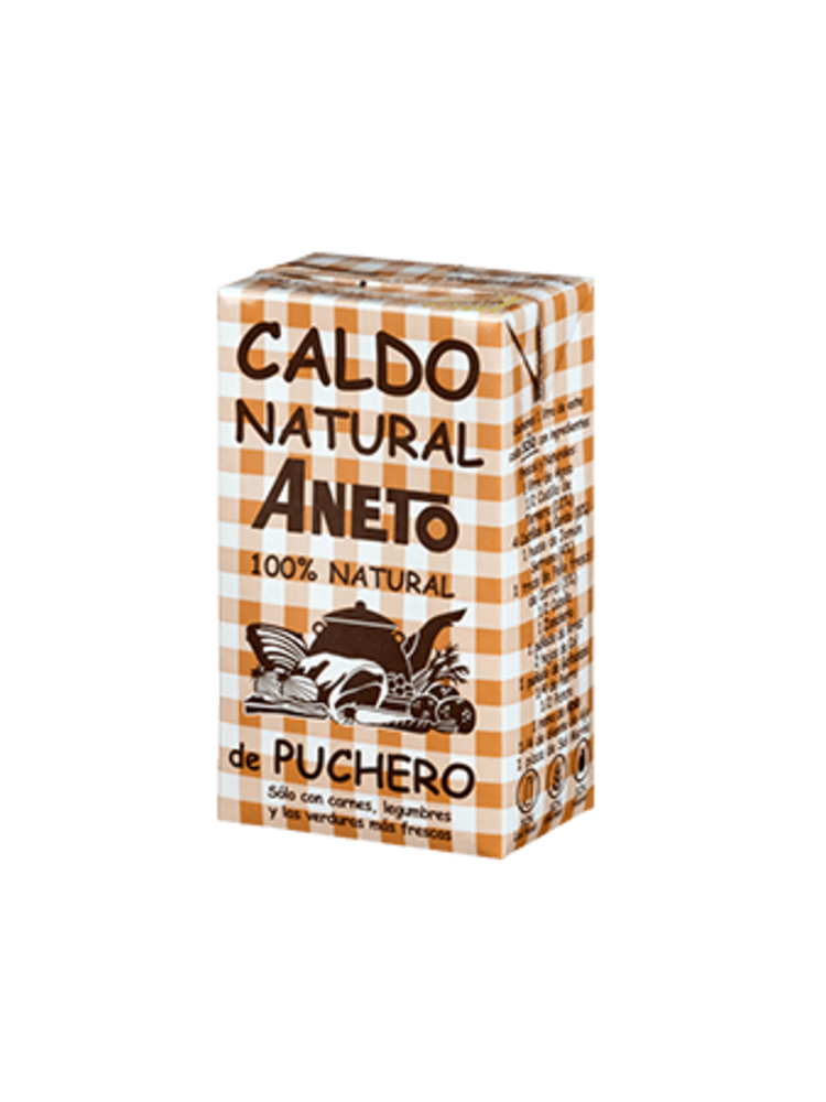 Aneto Caldo de Puchero 100% natural 1l