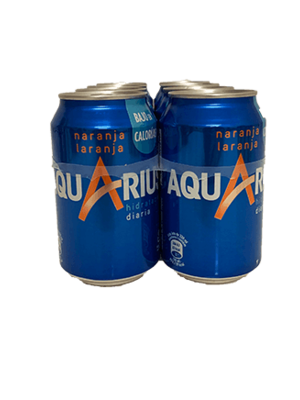 Aquarius Naranja 24x33cl