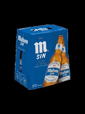 Mahou Mahou Sin Alcohol 6x25cl