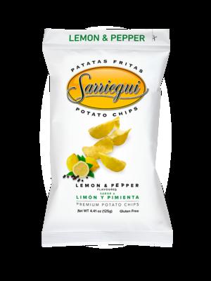 """Sarriegui Chips """"Limón y Pimienta"""" 125g"""