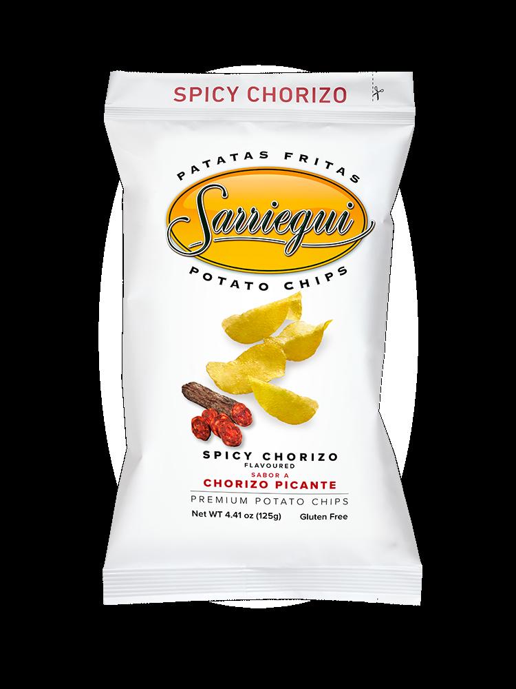 """Sarriegui Chips """"Chorizo Picante"""" 125g"""