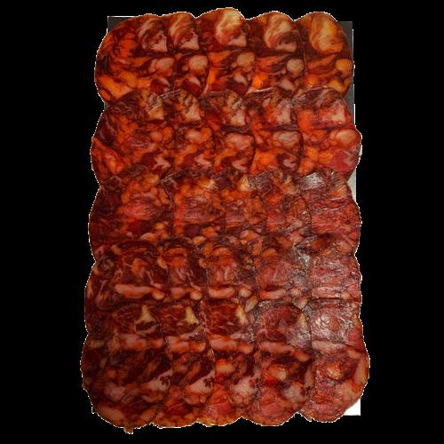 Señorio de la Fernandina Chorizo Ibérico de Huelva 100g en lonchas