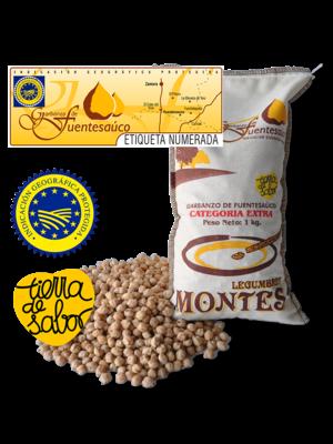 Legumbres Montes Garbanzo de Fuentesaúco IGP, 1kg
