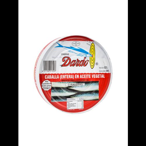 Dardo Makrelen in Pflanzenöl 390g