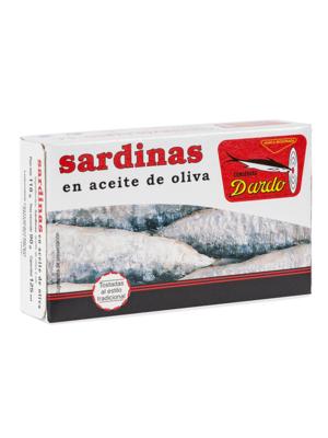 Dardo Sardinen in Olivenöl 90g